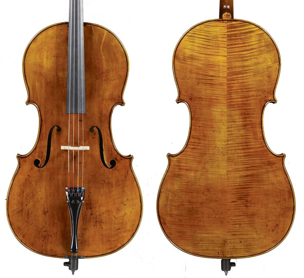 """violoncello """"Dos Santos Vilas"""" tribute"""