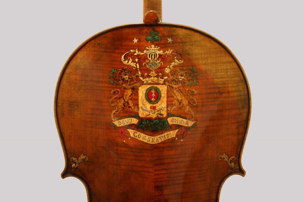 Cello (βασιλική – Vasiliki) 2016, 150 jubilee cello 'Sheremetev'